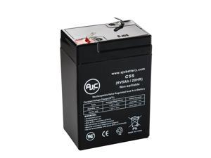 Lithonia ELB06042 6V 5Ah Emergency Light Battery - This is an AJC Brand® Replacement