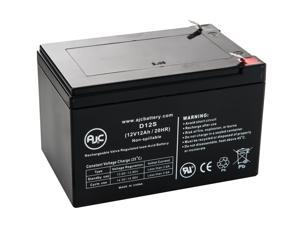Enduring CB12-12, CB-12-12 12V 12Ah Wheelchair Battery - This is an AJC Brand® Replacement