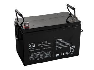 Universal Power UB121000 12V 100Ah Wheelchair Battery - This is an AJC Brand® Replacement