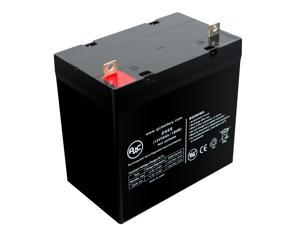 Golden Technology Atlantic - GP-201-F Atlantic - GP-202 55Ah Battery - This is an AJC Brand® Replacement