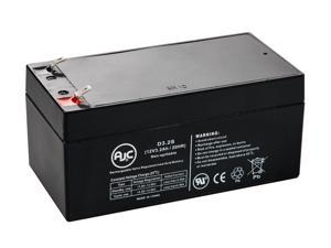 APC Back-UPS ES BE350G 12V 3.2Ah UPS Battery - This is an AJC Brand® Replacement