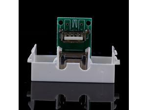 USB Female A to Female A 90 degree bend Connector Wall Plate Socket Module