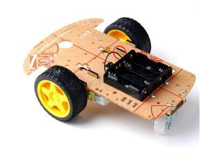 2WD Motor Smart Robot Car Chassis Kit with Classis Wheels Battery Case