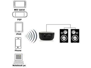 Baaqii WA012 Bluetooth Audio Music Receiver transmitter stereo 4 iPhone iPod A2DP PC Laptop