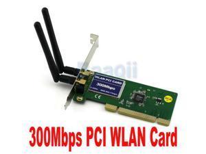 Baaqii WA036 PCI 300M 802.11n/g/b 300Mbps Wireless WiFi WLAN Network Card adapter