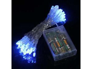 Baaqii HG151 AA Battery 40 LED Blue Light String Fairy Party Wedding Outdoor Yard HG151