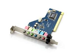 Baaqii A264 New 7.1CH Surround Audio PCI Sound Card 3D Technology VT1723 32-Bit Windows 7/XP