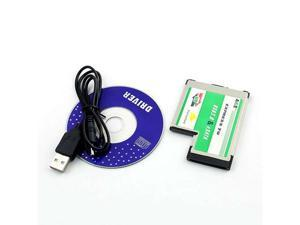 Baaqii A247 Hidden USB 3.0 + eSATA II 2.0 Combo to Express Card ExpressCard 54 54mm Adapter
