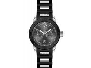 Invicta Men's 15809 Specialty Quartz Multifunction Charcoal Dial Watch