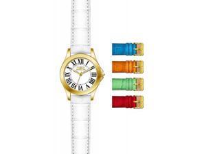 Invicta Women's 15936 Angel Quartz 3 Hand White Dial Watch