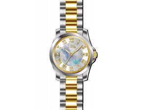 Invicta Women's 15236 Angel Quartz 3 Hand White Dial Watch