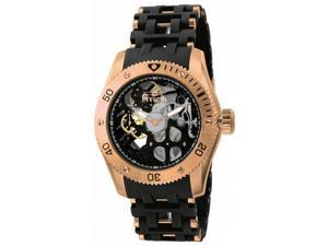 Invicta Men's 10349 Sea Spider Mechanical 2 Hand Black Dial Watch