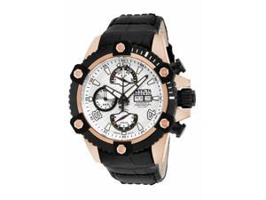 Invicta Men's 12501 Reserve Automatic Chronograph Silver Dial Watch