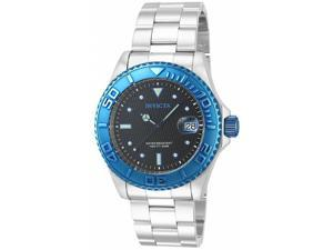 Invicta Men's 14759 Pro Diver Automatic 3 Hand Black Dial Watch