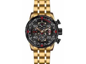 Invicta  Men's 17206 Aviator Quartz Chronograph Black Dial Watch