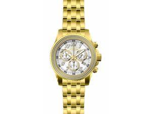 Invicta Men's 16262 Pro Diver Diamond Quartz Chronograph Silver Dial Watch