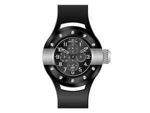 Invicta Men's 17384 S1 Rally Quartz Chronograph Black Dial Watch