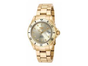 Invicta Men's 18508 Pro Diver Automatic 3 Hand Gold Dial Watch