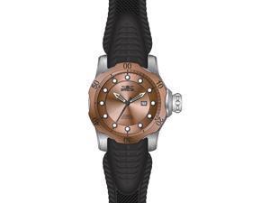 Invicta Men's 19313 Venom Automatic 3 Hand Rose Gold Dial Watch