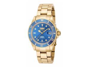 Invicta Men's 18507 Pro Diver Automatic 3 Hand Metallic Blue Dial Watch