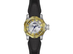 Invicta Men's 19312 Venom Automatic 3 Hand Gold, Antique Silver Dial Watch