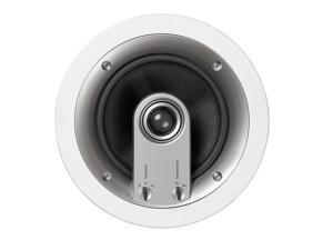 "Jamo IC606 (Pair) Custom 600 6.5"" in-ceiling Round, Front/Center/Surround  60 Watt Speake"