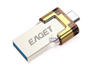EAGET V80 USB 3.0 32GB Flash Drive Waterproof OTG Android Mobile Smart Phone Tablet Tab Mac Window PC