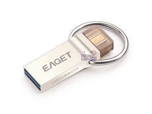 EAGET V90 USB 3.0 32GB Flash Drive Waterproof Micro USB3.0 OTG Android SmartPhone Mobile Cell Tablet PC Key Ring