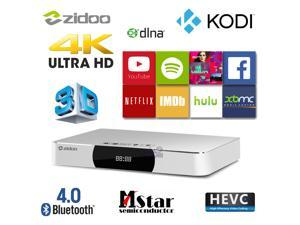 ZIDOO X9 MSTAR Quad Core Android Smart TV Box HDMI-in Video Recorder XBMC KODI 2G/8G 4K H.265 Media Player Dolby DTS w/ USB3.0 Dual Band WiFi Bluetooth PVR PIP
