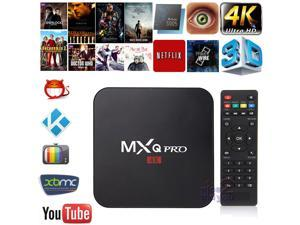 NEW HOT MXQ Pro Smart TV Box S905 XBMC Android 5.1 Quad-Core WiFi Kodi 4K HD 1080P Media Player Internet Streamer HDMI ...