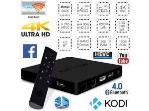 NEW Mini MX 4K UHD Android 5.1 Quad Core 2GB 16GB eMMC TV Box Bluetooth 4.0 HDMI 2.0 Dual Band 2.4GHz 5GHz WiFi Media Player Mini PC 1000M Gigabit Ethernet LAN H.265 HEVC Internet Streamer