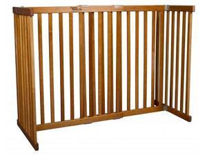 Free Standing Pet Gate - Small Tall/Mahogany - 42305