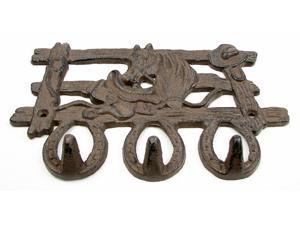 Horse Fence Cast Iron Hook-0184S-0440