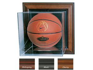 Caseworks International CAS-BB-401-CU-M Case-Up Basketball Display Case - No Logo - Mahogany
