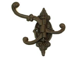 Cast Iron Swivel 3-Hook Single-0170S-01758