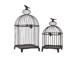 Set of two Simple and ClassyMetal Bird Cages