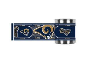 Great American Products St. Louis Rams Can Holder Stainless Steel Can Holder