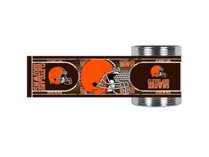 Great American Products Cleveland Browns Can Holder Stainless Steel Can Holder