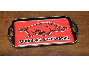 BSI PRODUCTS 38042 Melamine Serving Tray- Arkansas Razorbacks