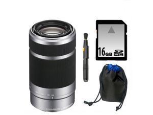 Sony DSLR SEL55210 55-210MM F4.5-6.3 E-Mount Lens Kit K1