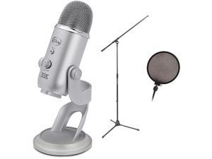 Blue YETI USB Microphone by Blue Microphones Condenser Plug-and-Play Microphone with Kit