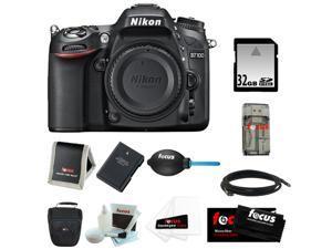 Nikon D7100 24.1 MP DX-Format CMOS Digital SLR (Body Only)  + 32GB Memory Card