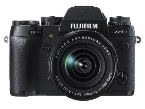 """FUJIFILM X-T1 16421555 Black 16.3 MP 3.0"""" 1040K LCD Digital Camera w/XF18-55mm Lens"""