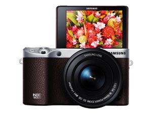 Samsung NX500 Mirrorless Digital Camera with 16-50mm Power Zoom Lens