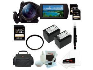 """SONY CX900: Sony HDRCX900/B HD Video Camera w/ 1"""" sensor + 64GB Accessory Kit"""