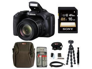 CANON SX530: Canon PowerShot SX530 IS Digital Camera with 16GB Deluxe Accessory Kit