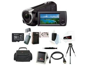 SONY CX405: Sony HD Video Recording HDRCX405 HDR-CX405/B Handycam Camcorder with 32GB Deluxe Accessory Kit