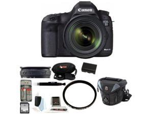 Canon 5D EOS 5D Mark III DSLR Camera Kit with Canon EF 24-70mm f/4L IS USM Lens and 32GB Deluxe Accessory Kit