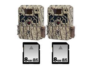 Browning Strike Force Trail Camera Two Pack with Two 8GB SD Memory Cards
