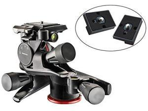 Manfrotto XPRO Geared 3 Way Head with Adapto Body #MHXPRO-3WG